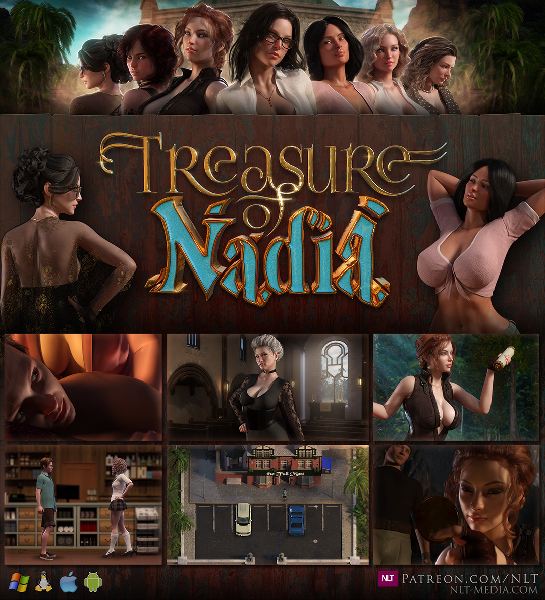 NLT Media has released a new game called Treasure of Nadia!