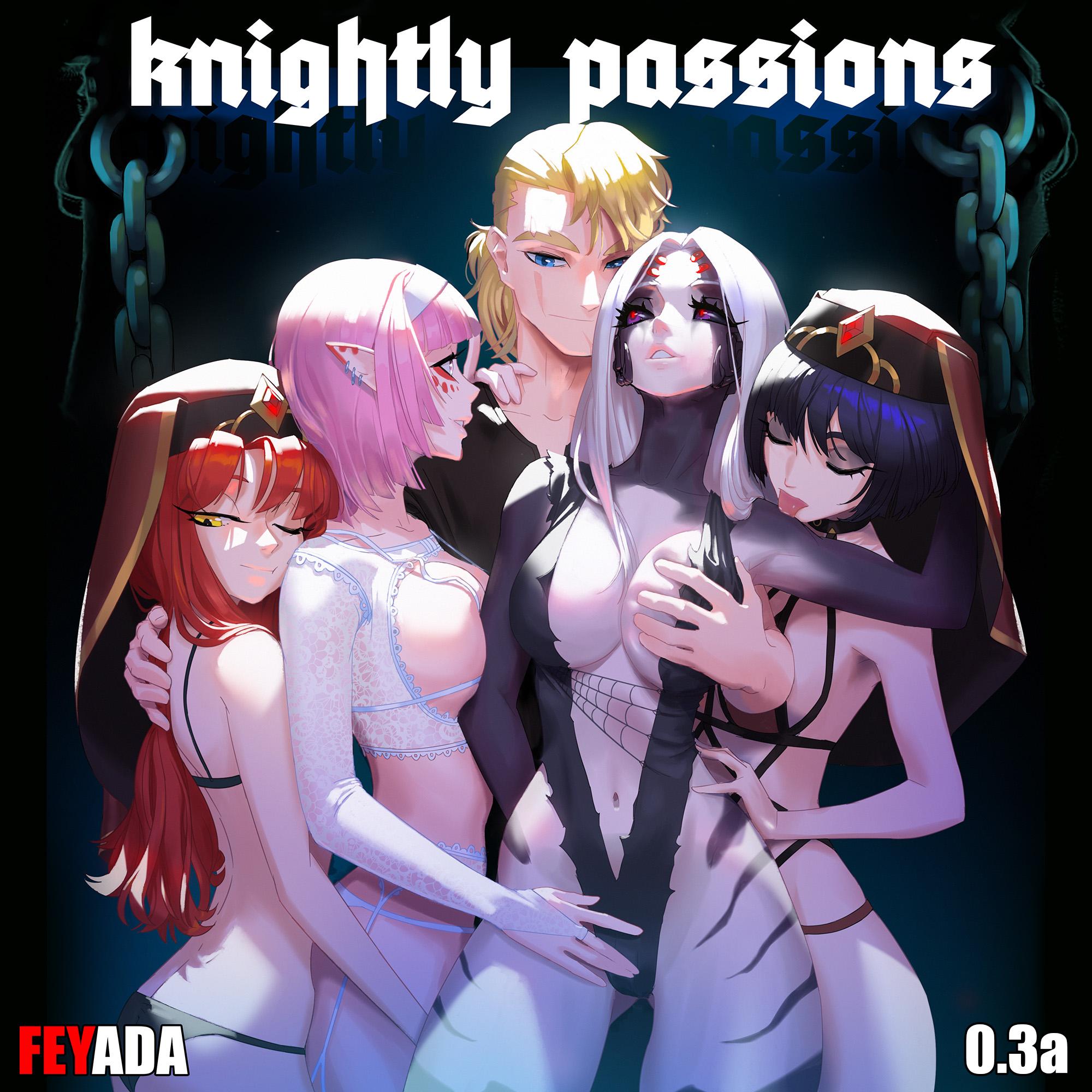 """""""Knightly Passions"""" by FEYADA"""